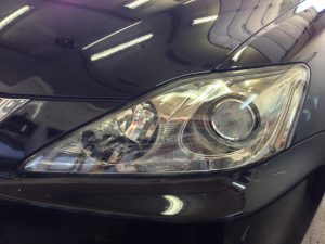 Headlight Protection Film After