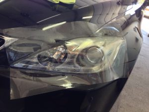 Headlight Protection Film Before