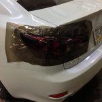 Lexus Smoke Tint Before