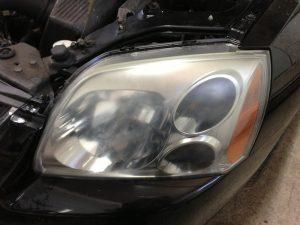 Hazy Headlight