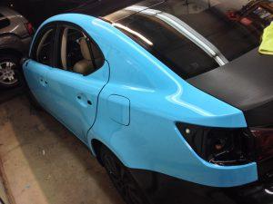 Lexus Vehicle Wrap