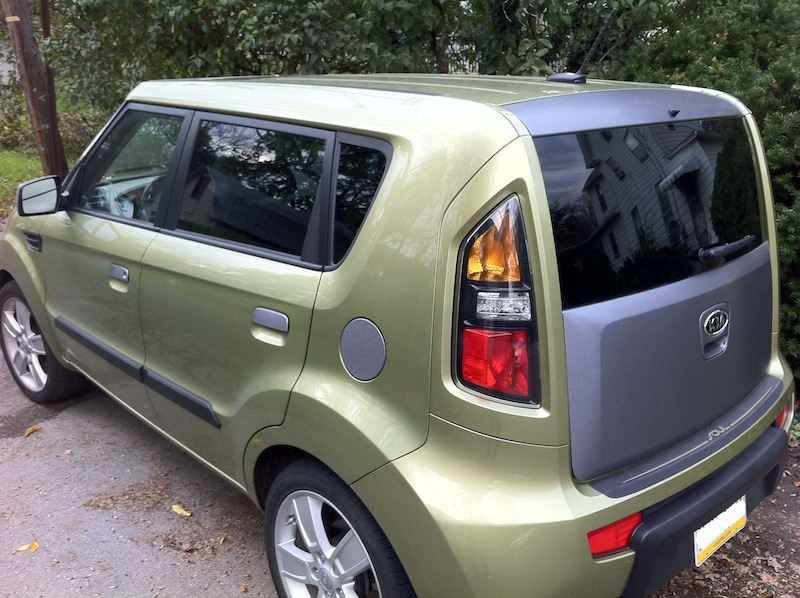Brushed Steel Kia Soul