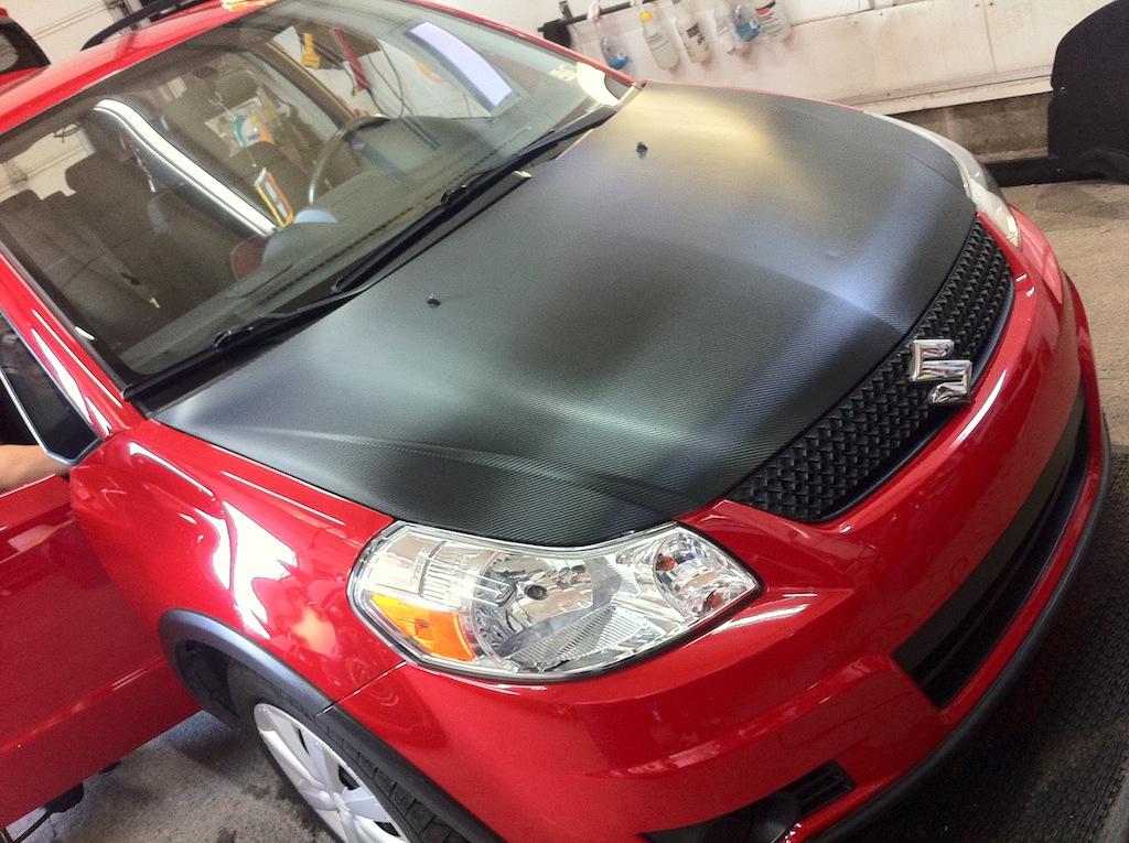 Suzuki Carbon Hood
