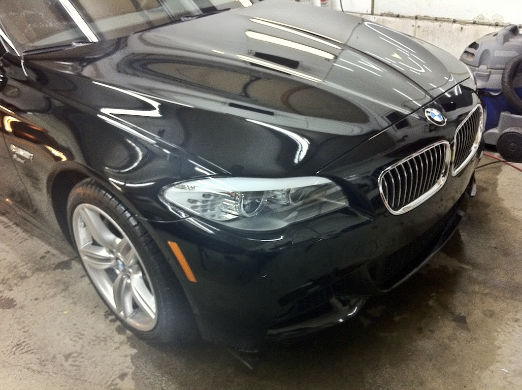 BMW 535i Clear Bra