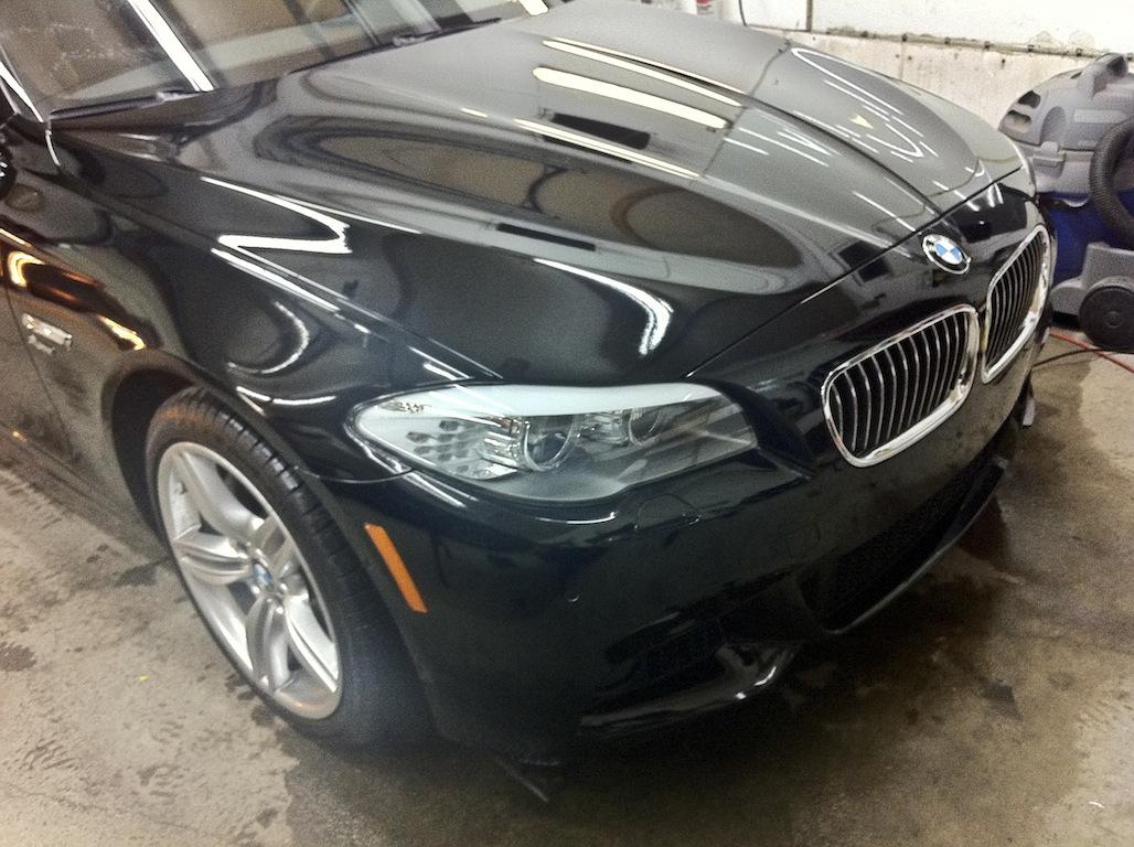 2012 BMW Clear Bra