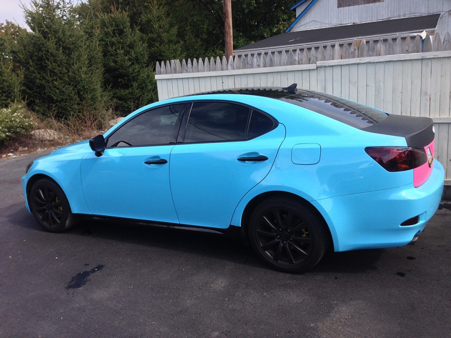 Gloss Sky Blue Lexus IS250